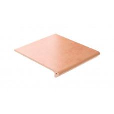 Клинкерная ступень флорентинер ABC Mittelalterliche Cremasand, 335*310*10 мм
