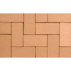 Тротуарная клинкерная брусчатка ABC Lederfarben-nuanciert, 200х100х52 мм
