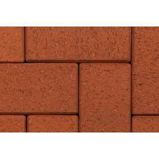 Клинкерная тротуарная брусчатка мозаичная (8 частей) ABC Rot-nuanciert, 240*118/60*60*52 мм