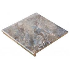 Клинкерная фронтальная ступень Sea Rock Gris Oscuro florentino, Ceramica Mayor