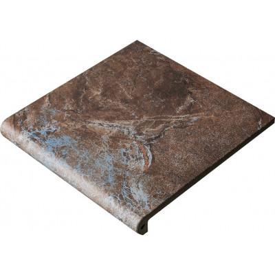 Клинкерная фронтальная ступень Maverick Siena (330х330х12), Exagres