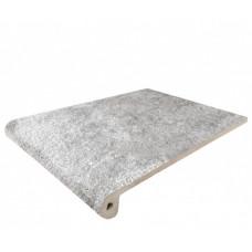 Клинкерная ступень для крыльца Manhattan Grey (245х330х40/10), Exagres