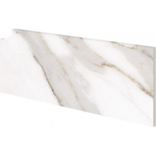 Боковина ступени правая Marbles Calacatta (400х180), Exagres