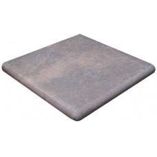 Клинкерная ступень угловая флорентинер Stone Flame, Exagres арт. 9071