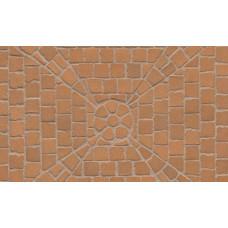 Тротуарная клинкерная мозаика Feldhaus Klinker М203 areno trigo, 240*118*52 мм