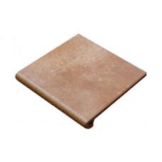 Клинкерная ступень-флорентинер Gres Aragon Mytho Tierra, 330*325*18(53) мм