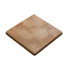 Клинкерная угловая ступень-флорентинер Gres Aragon Mytho Tierra, 330*330*18(53) мм