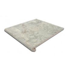 Клинкерная ступень-флорентинер Gres Aragon Itaca Gris, 300*297*14(38) мм