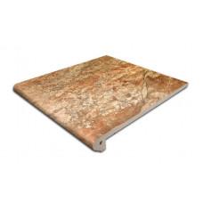 Клинкерная ступень-флорентинер Gres Aragon Itaca Mix, 300*297*14(38) мм