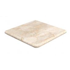 Клинкерная угловая ступень-флорентинер Gres Aragon Rocks Beige, 330*330*14(36) мм