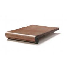 Клинкерная ступень-флорентинер Gres Aragon Esmaltados Classic Pisa, 330*325*18(53) мм