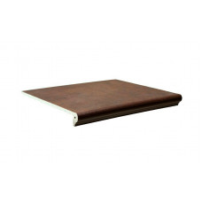 Клинкерная ступень флорентинер Interbau Nature Art Umbra braun, 360*320*9,5 мм
