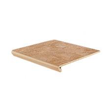 Клинкерная ступень флорентинер Interbau Nature Art Gobi sand, 360*320*9,5 мм