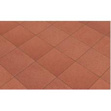 Клинкерная тротуарная брусчатка Lode Janka красная шероховатая, 200*200*30 мм