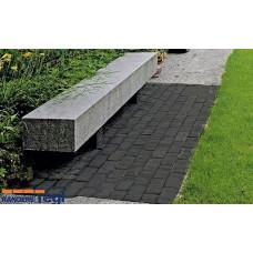 Состаренный тротуарный кирпич RT 31 Schwarz nuanciert