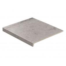 Клинкерная ступень прямая Stroeher GRAVEL BLEND 962 grey 30, 9430, 294х340х35х11 мм