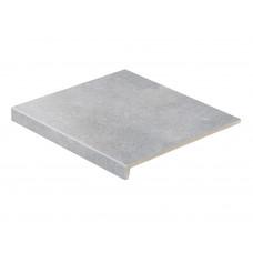 Клинкерная ступень прямая Stroeher Zoe 970 grey 30, 9430, 294х340х35х11 мм