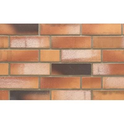 Клинкерная плитка Stroeher Kontur WS 492 orange-bunt рельефная, 240*71*12 мм
