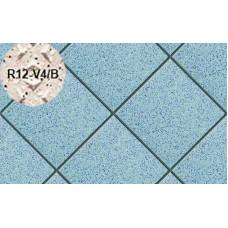 Плитка напольная для промышленных помещений Stroeher Secuton ТS40 blau (R12-V4/B), 196*196*10 мм
