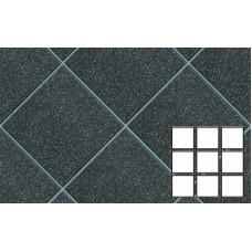 Плитка-мозаика напольная (разделена на 9 частей 96*96*10 мм) для промышленных помещений Stroeher Secuton ТS80 anthrazit, 296*296*10 мм