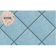 Плитка напольная для промышленных помещений Stroeher Secuton ТS40 blau (R11/B), 196*196*10 мм