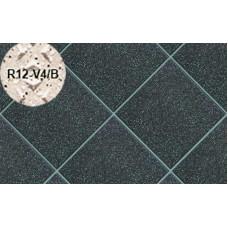 Плитка напольная для промышленных помещений Stroeher Secuton ТS80 anthrazit (R12-V4/B), 196*196*10 мм