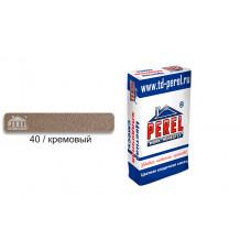 Цветной кладочный раствор PEREL SL 0040 кремовый, 25 кг