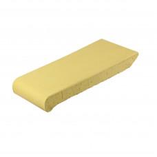 Подоконник ZG Clinker, цвет желтый, размер ОК23, 230х110х25